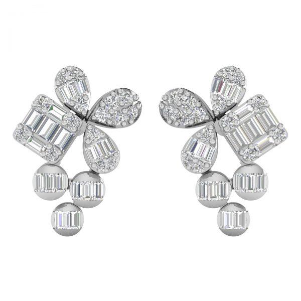 Diamond Earring 2584